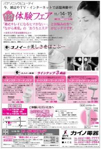 おうちエステ体験会2009年11月