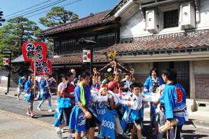 江戸家敷と神輿